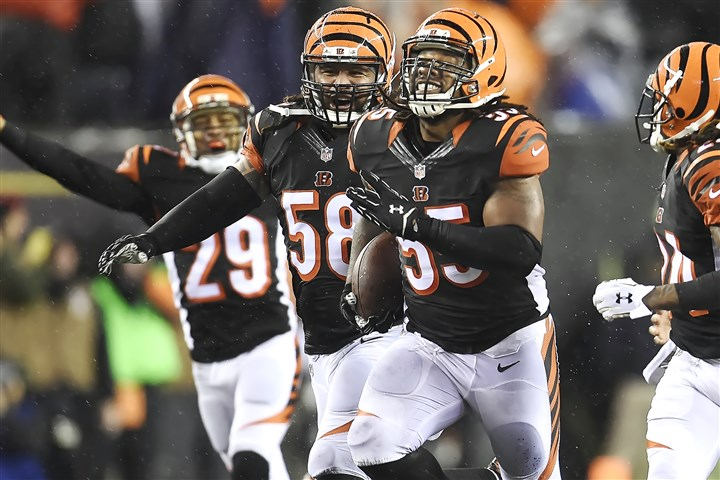 20160109pdSteelersSports13-16 NFL owners delayed making a decision on whether players, such as Cincinnati linebacker Vontaze Burfict, should be ejected after getting two personal foul penalties in the same game.
