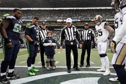 The Buffalo Wild Wings Coin Toss.