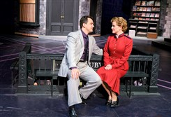 "Charlie Brady and Kimberly Doreen Burns star in Pittsburgh Public Theater's performance of ""Guys & Dolls."""