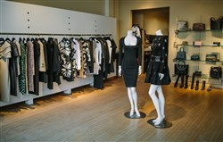 East End shopping has something unique for every fashion style. Pictured: The interior of high-end designer boutique Choices in Shadyside.
