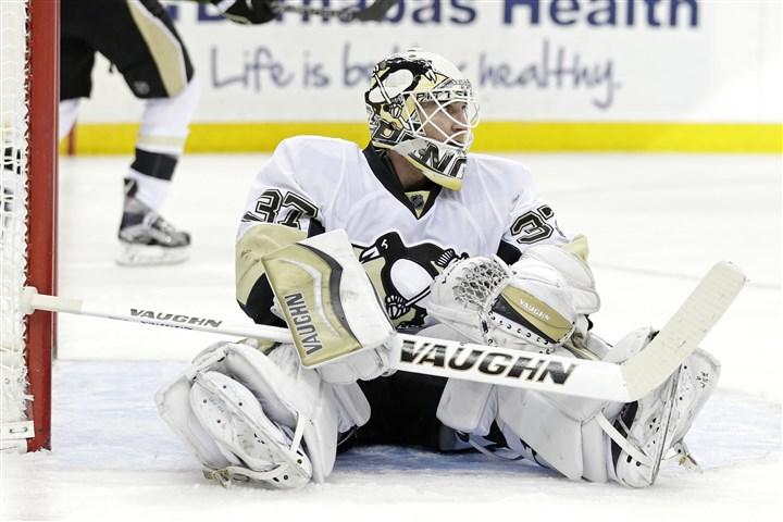 Penguins notebook: Goaltender Jeff Zatkoff is seeking redemptio…