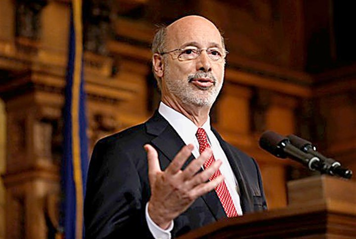 Pennsylvania Budget Wolf Gov. Tom Wolf
