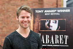 Randy Harrison in New York earlier this month.
