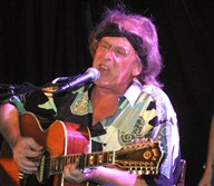 Jefferson Starships' Paul Kantner performs at a benefit concert in New York City in 2001.