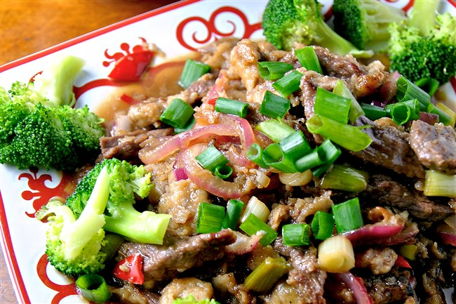 Orange Beef is a great way to start off the Chinese New Year, which starts Monday.