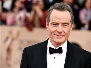 """Bryan Cranston, arriving at the Screen Actors Guild Awards in January, will star in """"Last Flag Flying,"""" to be filmed in Pittsburgh starting in November."""