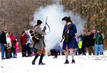 As part of an annual commemoration of George Washington's trip through the Butler County area, re-enactors repeat a shot that almost killed him. It is considered the first shot of the French and Indian War. Participants on history walks at Jennings Environmental Center on Feb. 20 will get to see and hear that shot.