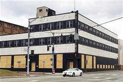The former McKeesport Daily News building in 2016. The building has been donated to the city with plans to convert it into a media center.