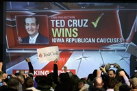 Ted Cruz was the GOP winner in the Iowa caucuses but Marco Rubio got the biggest boost going into New Hampshire.