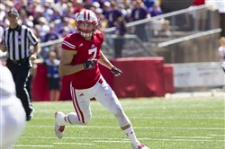 West Allegheny and Wisconsin product Mike Caputo recorded two interceptions in the East-West Shrine Game.