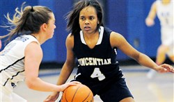 Defense was a big part of Torrie Cash's game while at Vincentian. Now she will take her talents to Coastal Carolina.