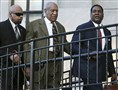 Actor and comedian Bill Cosby, center, arrives for a court appearance Tuesday in Norristown, Pa.