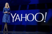 In this 2014, file photo, Yahoo president and CEO Marissa Mayer speaks during the International Consumer Electronics Show in Las Vegas.