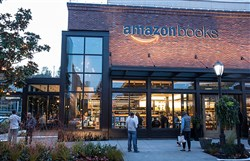 The new Amazon bookstore in Seattle