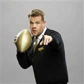 "James Corden will host a special Super Bowl Sunday edition of ""The Late Late Show With James Corden""  after late local news (approximately 11:35 p.m.)."