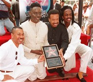 Maurice White and members of Earth, Wind & Fire, 1995