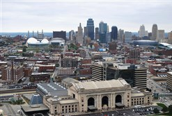 The National World War I Museum and Memorial offers a grand view of Kansas City from its 217-foot observation deck.
