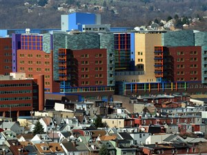 Children's Hospital of Pittsburgh of UMPC in Lawrenceville.