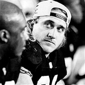 Blitzburgh linebacker Kevin Greene at Super Bowl XXX.