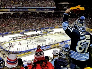 The 2011 Winter Classic sold out months before the game took place. The Stadium Series game Feb. 25 still has seats available.
