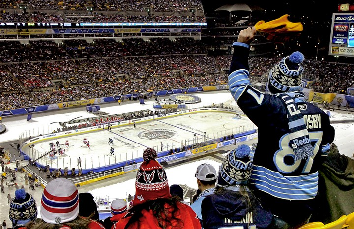91e00kh2.JPG The Penguins and Flyers have worked out a deal to bring another outdoor NHL game to Pittsburgh, the first since the Winter Classic at Heinz Field in Jan. 2011.