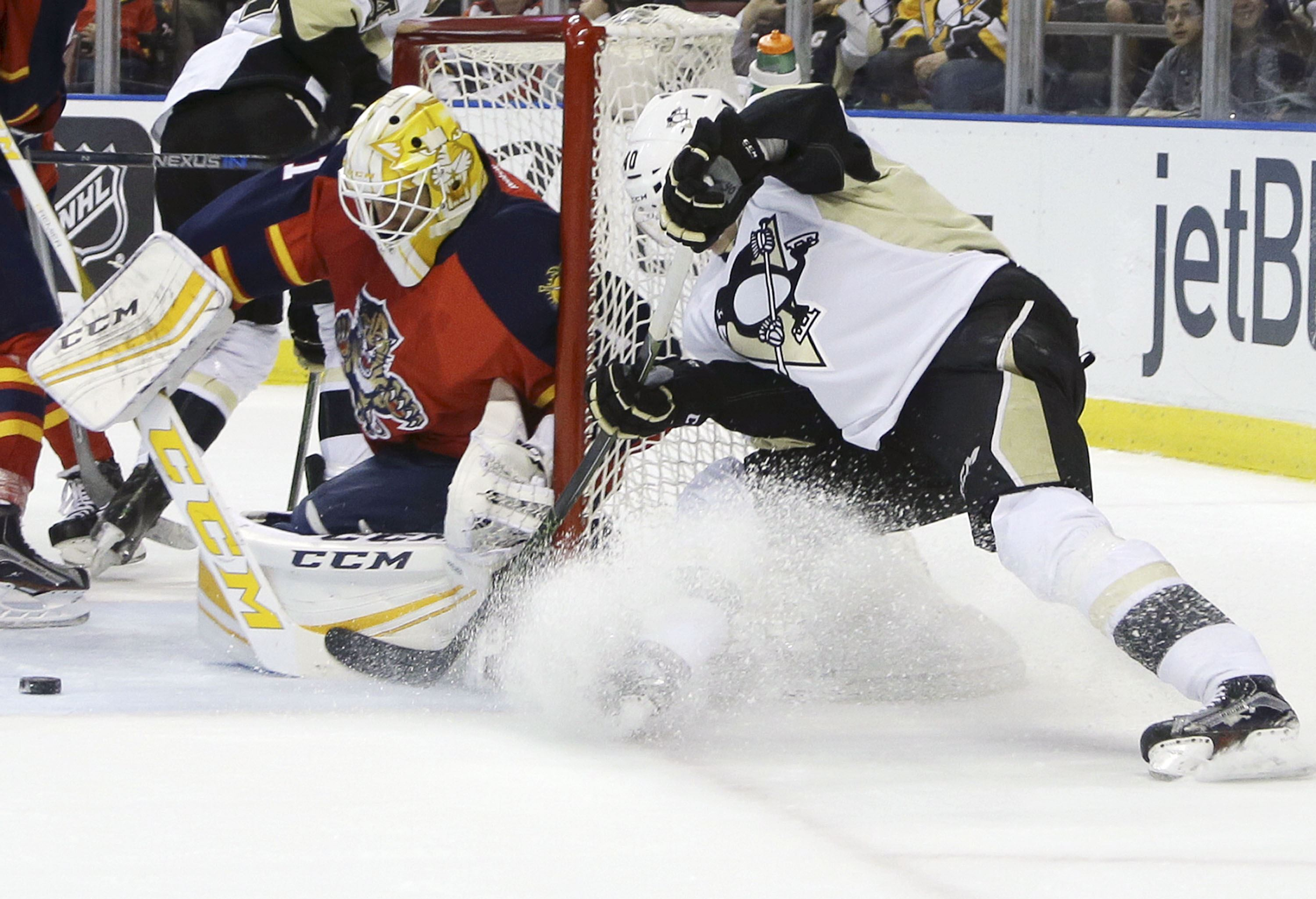 Penguins take down Panthers in OT, 3-2