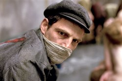 "Geza Rohrig gives an excellent performance in ""Son of Saul,"" his feature film debut."
