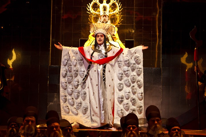 "0462 Bachman Turandot open kimono-1 Puccini's ""Turandot,"" which Pittsburgh Opera staged in 2011, will return to the Benedum in March-April 2017."
