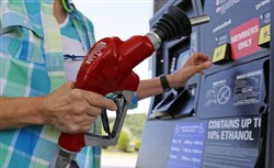 Drivers in the area are paying on average 37 cents a gallon less than what they did a year ago.