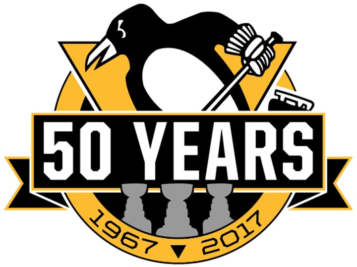 Penguins unveil logo for 50th anniversary   Pittsburgh ...