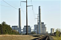 This Oct. 20, 2010, file photo shows Xcel Energy's Sherco Power Plant in Becker, Minn.