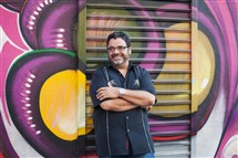 Arturo O'Farrill, founder and leader of the Afro-Latin Jazz Orchestra. credit: Laura Marie.