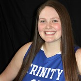 Mary Dunn, a senior at Trinity and a Youngstown State recruit, posted a triple-double Monday night in her final regular-season game.