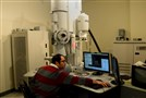 Mina Abider of Fischione Instruments in Export works on a transmission electron microscope. The company shifted into the life sciences market during the market crash of 2008. The change allowed the company to double its workforce, revenue and plant size.