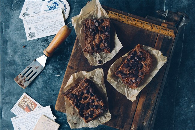 Dark Chocolate Almond Butter Brownies