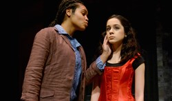 "In 2016, Laela Lumsden and Ann Ungarino of Hope Academy presented a scene from ""The Taming of the Shrew"" for a win in the Shakespeare Monologue & Scene Contest."