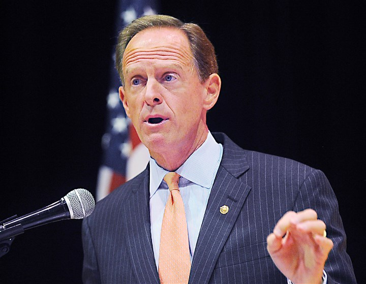 20150908ng-Toomey1 U. S. Sen. Pat Toomey, R-Pa., has endorsed Marco Rubio for the Republican presidential nomination.