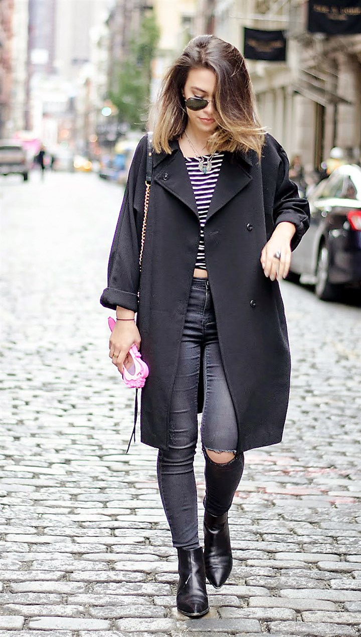 Arianna Costanzo Arianna Costanzo shows off her street style. The 21-year-old from Fox Chapel was invited to New York Fashion Week to be a community correspondent for the shopping website and app Polyvore.