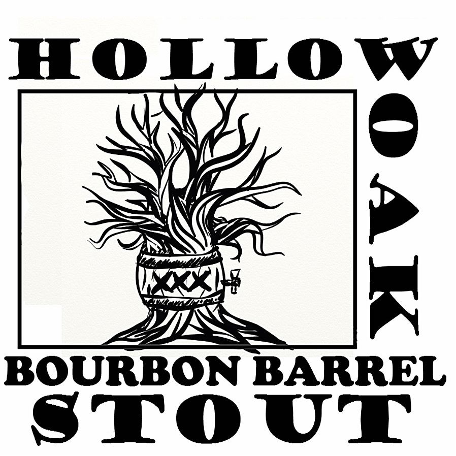 hollow_oak_stout_food-7 Hollow Oak Bourbon Barrel Stout, a rare beer made by a mountain-biking home brewer, will be part of the Hollow Oak Land Trust's upcoming 25th anniversary party.