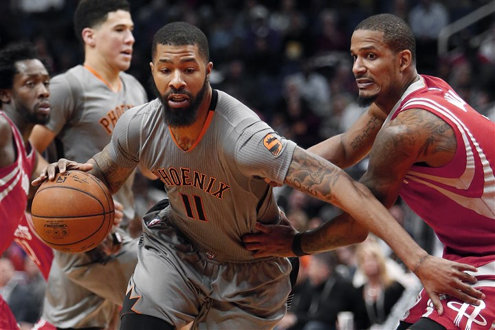 Suns Wizards Trade Basketball The Suns traded forward Markieff Morris to the Wizards Thursday for former Schenley and Pitt standout DeJuan Blair, Kris Humphries and a future draft pick.