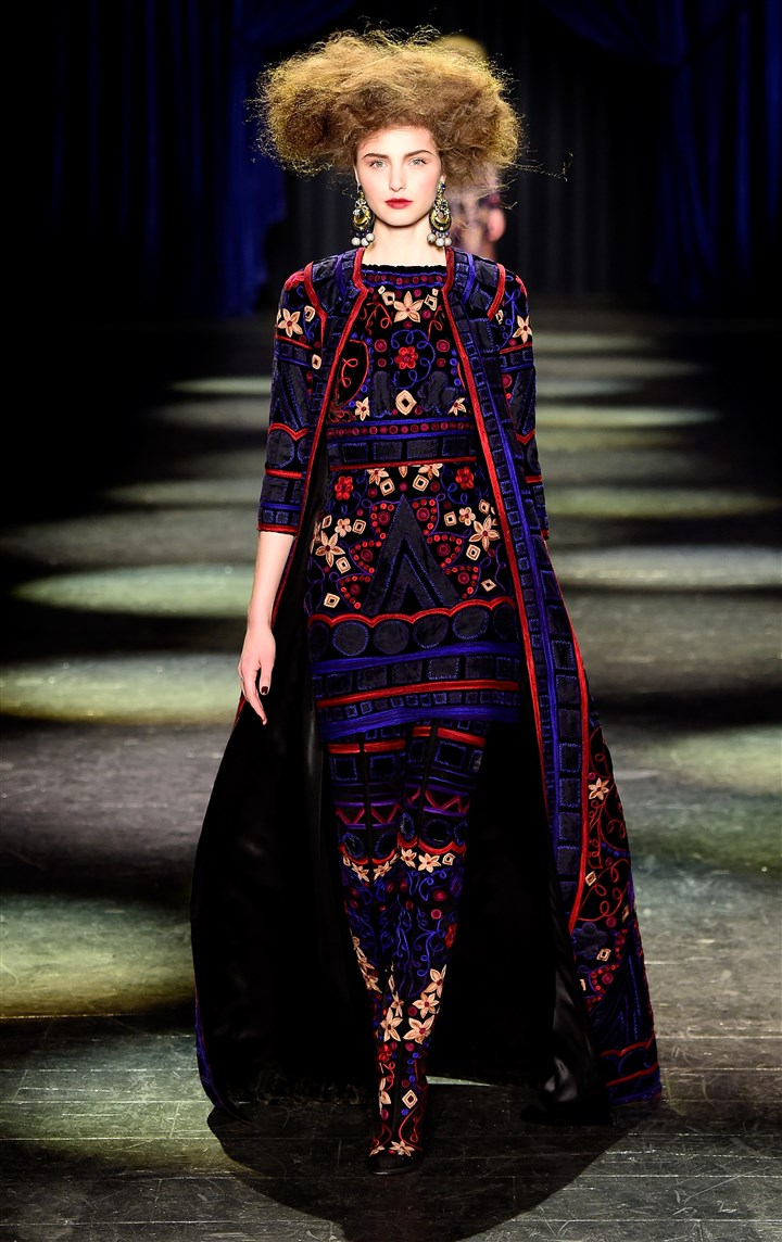 Naeem Khan NYFW Fall 2016 Naeem Khan
