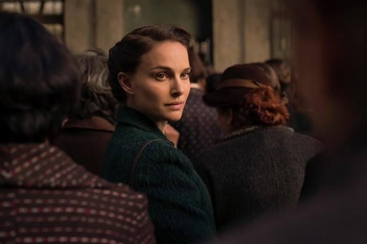 "A Tale of Love and Darkness Natalie Portman in ""A Tale of Love and Darkness."""