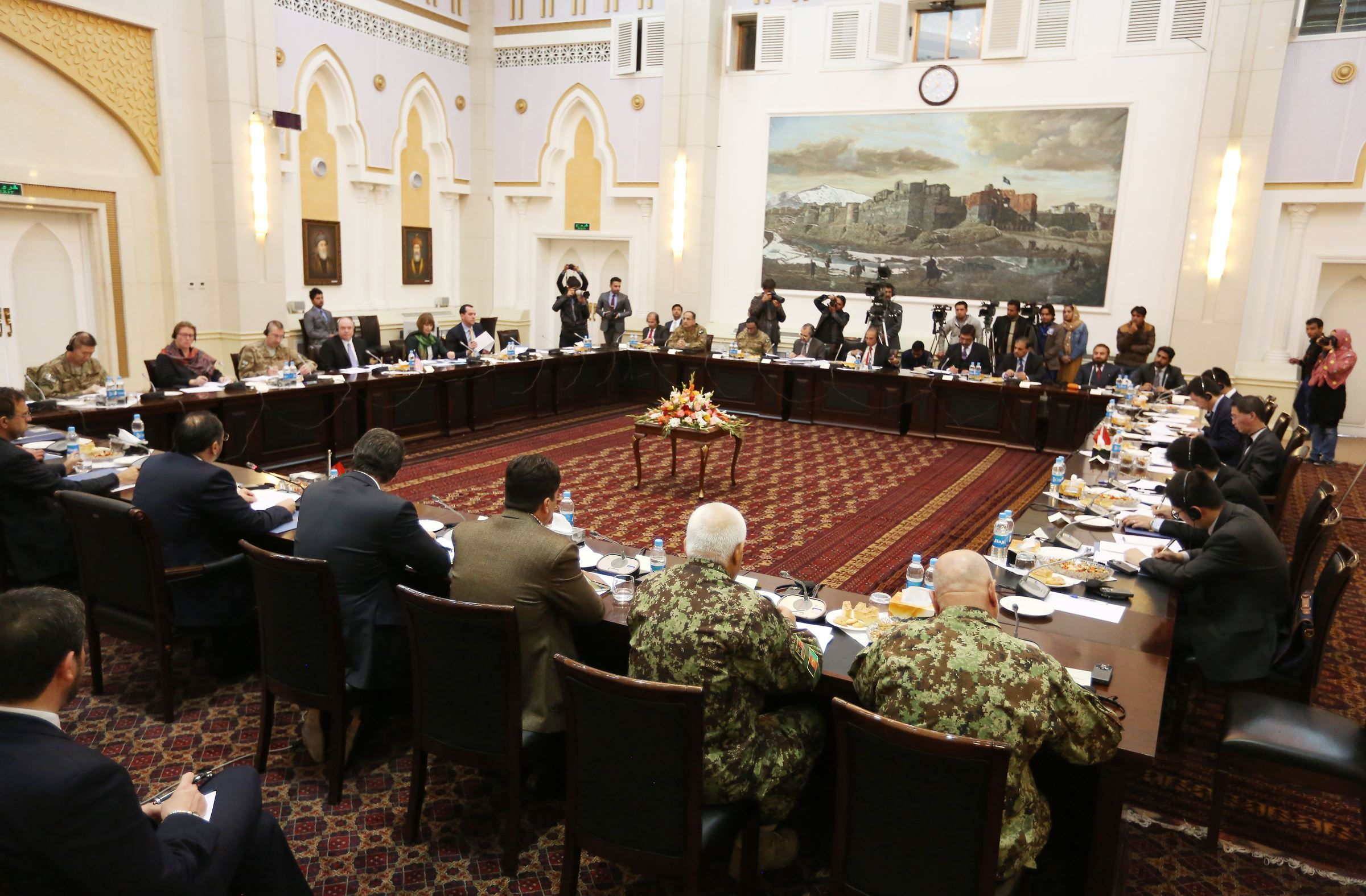 "taliban peace talks Kandahar police chief gen abdul raziq said on tuesday ""50 percent"" of quetta shura – the taliban's leadership council – supports the peace process."