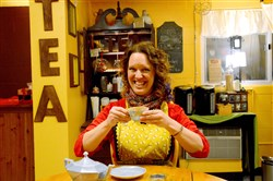 Danielle Spinola runs Tupelo Honey Teas now located in Millvale.