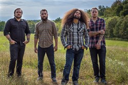 Coheed and Cambria: Travis Stever, left, Zach Cooper, Claudio Sanchez and Josh  Eppard.