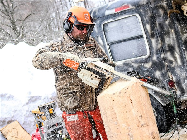 Let the sawdust fly — chainsaw rendezvous takes over