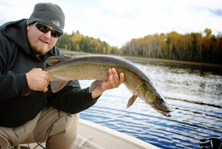 Musky Fly Rod World Champion Todd Deluccia Musky Fly Rod World Champion Todd Deluccia released this monster muskullunge.