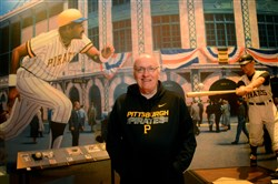 Baseball historian Jim Haller will be giving a talk as part of the Parlor Talks at West Overton Village.