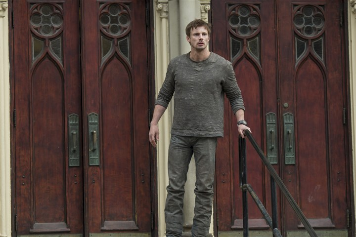 "owen0304_damien_mag Bradley James stars as the title character in ""Damien,"" a sequel to ""The Omen."""