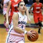 Anna Niki Stamolamprou is back as the leading scorer for Robert Morris and new coach Charlie Buscaglia.